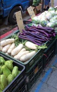 朝市 野菜